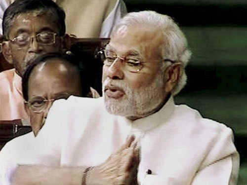 Highlights of Prime Minister Narendra Modi's speech in parliament
