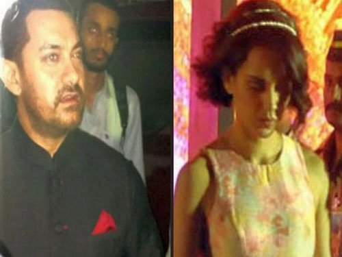 Aamir Khan, Kangana meet Narendra Modi over dinner