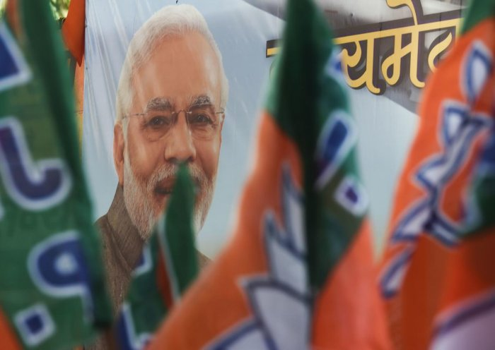 The last fiscal saw BJP getting Rs 437.04 crore out of Rs 469.89 crore of high-value donations garnered by national parties, which also includes Congress, Trinamool Congress, NCP, BSP, CPI(M) and CPI. (AFP Photo)
