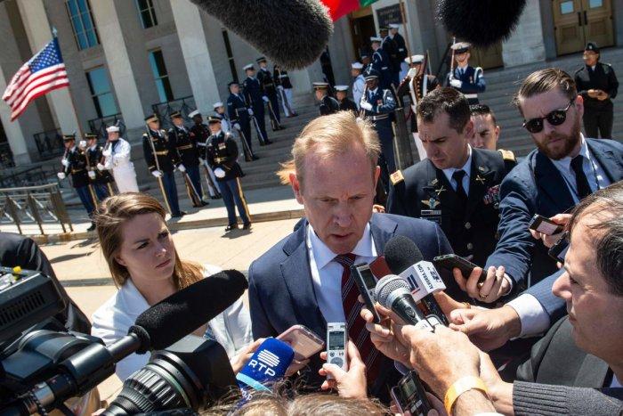 Acting US Secretary of Defense Patrick Shanahan. (AFP)
