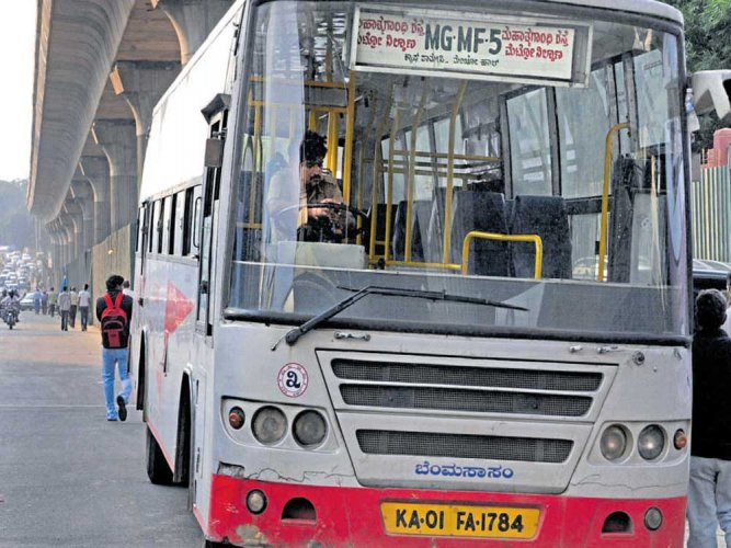 In a release, the Bangalore Metropolitan Transport Corporation (BMTC) said it received 1,54,099 applications. Last year, had BMTC shifted the application process to its website. (DH File Photo)