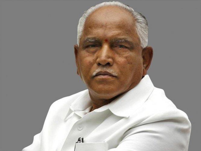 Karnataka CM B S Yediyurappa,