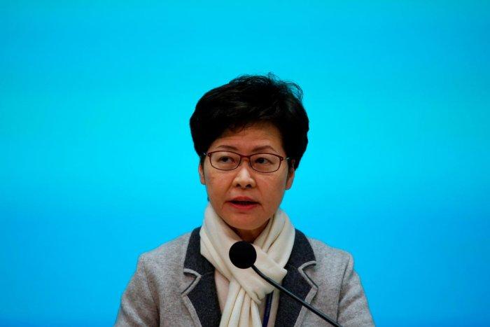 Hong Kong Chief Executive Carrie Lam. (Reuters photo)
