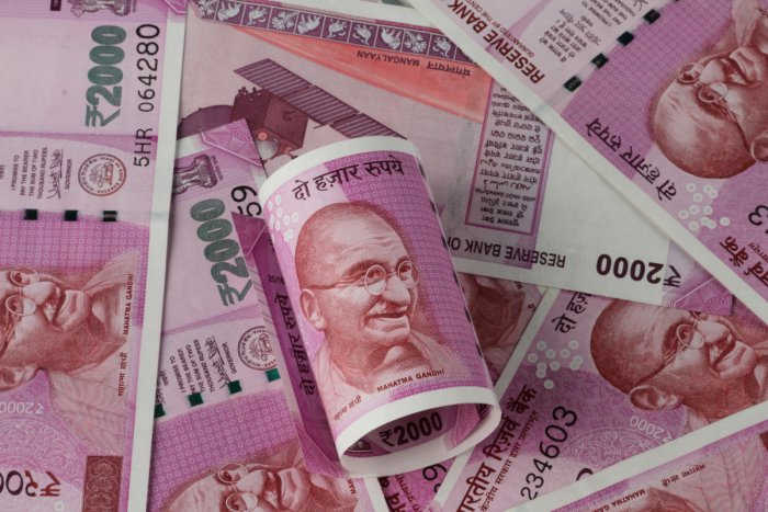 The supply of the Rs 2,000 denomination notes went down by 68.9% during 2018-19 to 47 million notes from 151 million notes a year ago.