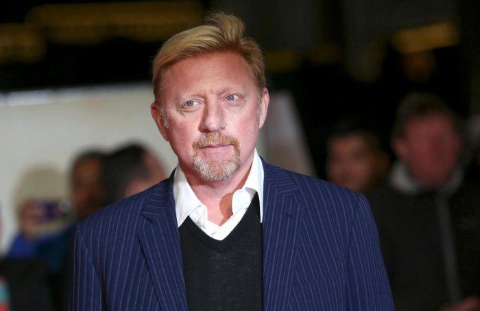 Former tennis player Boris Becker poses for photographers. (Reuters File Photo)