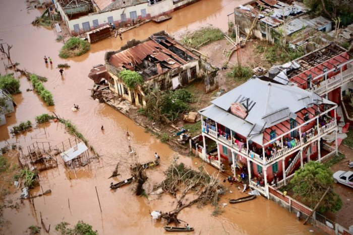 The worst flooding in two decades in the Central African Republic. (AFP File Photo)