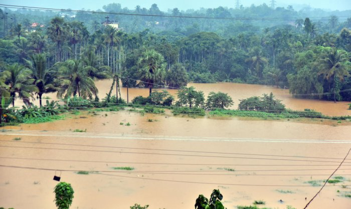 The state sought Rs 10 000 crore relief from the Centre to take up relief works in calamity hit areas. (DH File Photo)