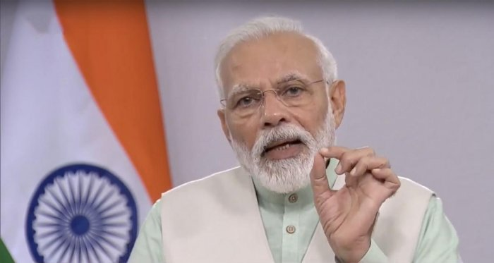 PM Modi had asked people to clap and clang bells and plates, which the MLA termed 'completely wrong'. PTI/File