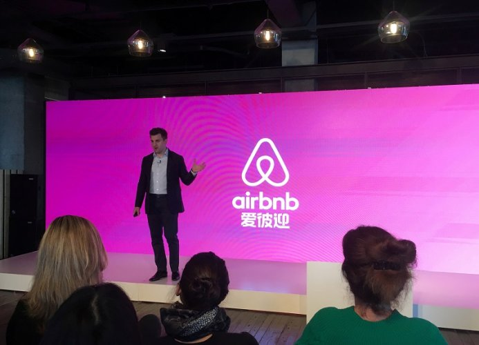 Airbnb Co-Founder and CEO Brian Chesky. (Reuters Photo)