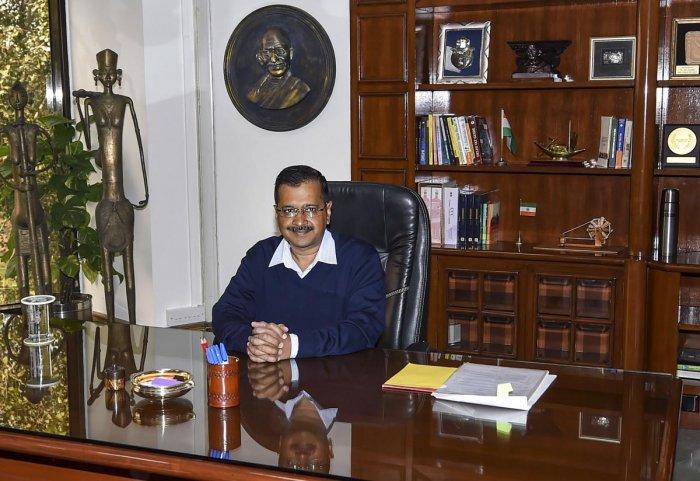Arvind Kejriwal. (PTI Photo)