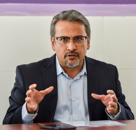 Hari Marar, CEO & MD, BIAL. (DH Photo)