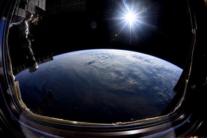 A view of the Earth from the International Space Station. AFP/file photo for representation