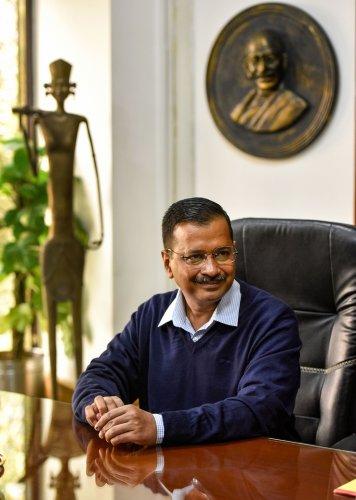 AAP supremo Arvind Kejriwal. (Photo: PTI)