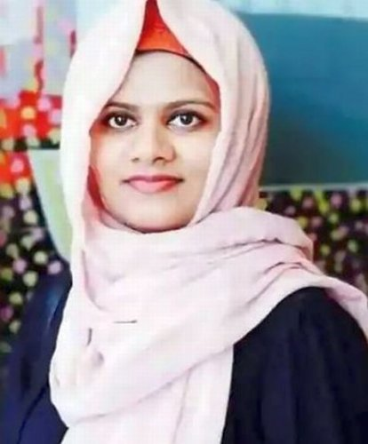 Dr Shifa Mohammed postponed her wedding to continue treating COVID-19 patients. Credit: DH Photo