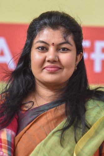 Congress MLA Sowmya Reddy
