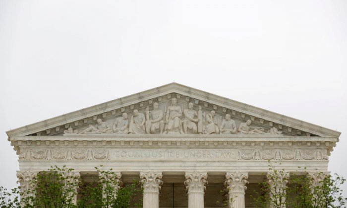 Reuters/File photo of the US Supreme Court