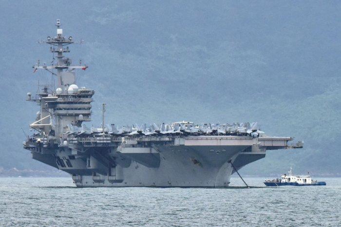 USS Theodore Roosevelt. Reuters/File