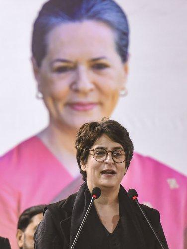 AICC General Secretary Priyanka Gandhi. (PTI Photo)