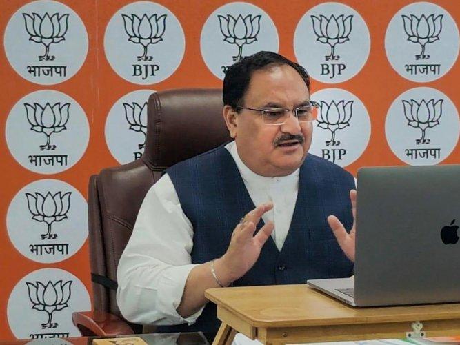 BJP National President JP Nadda. (PTI Photo)