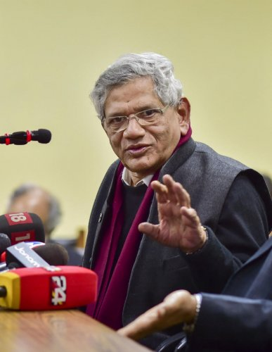 """Yechury shot off a letter to Modi highlighting that his previous communications demanding help for migrant workers to reach their homes and Rs 7,500 per month for the poor among others have gone """"unanswered"""" and """"not even been acknowledged""""."""