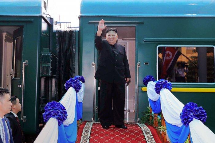 North Korea's leader Kim Jong Un (Credit: AFP)