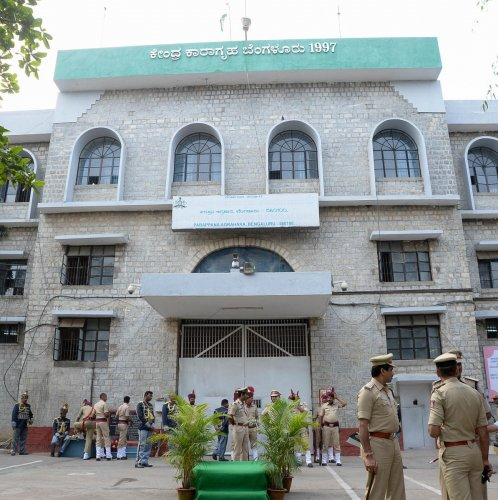 Central Prison at Parappana Agrahara is the largest jail in Karnataka. DH PHOTO