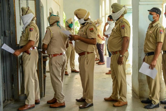 All personnel of Punjab police will have Harjeet Singh's name instead of their own names on the badges they pin up to their uniforms. PTI