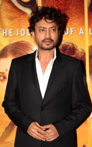 Actor Irrfan Khan. (Credit: AFP Photo)