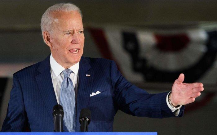 Joe Biden. (AFP Photo)