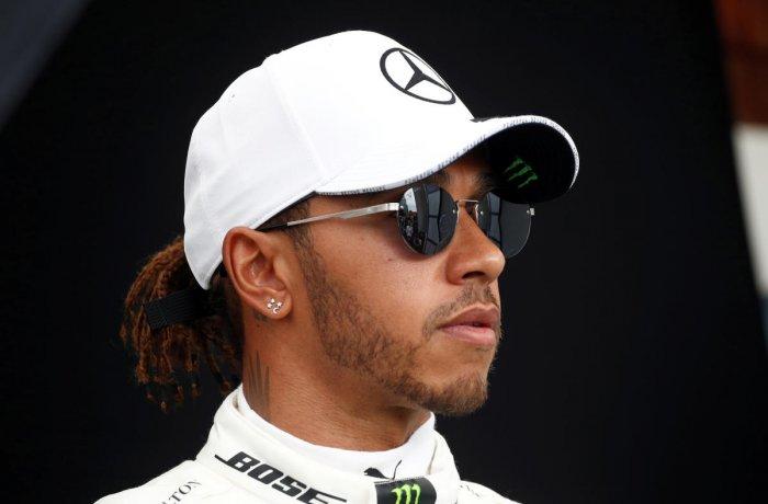 Lewis Hamilton. (Reuters photo)