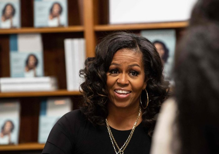 Former US First Lady Michelle Obama. (AFP Photo)