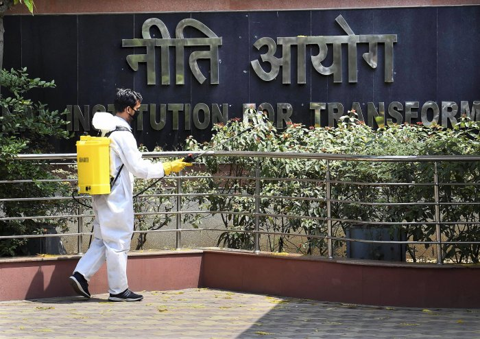 Recently, the Aviation Ministry headquarters was also sealed after one of its employees who had attended office on April 15, tested positive for COVID-19. (Credit: PTI Photo)