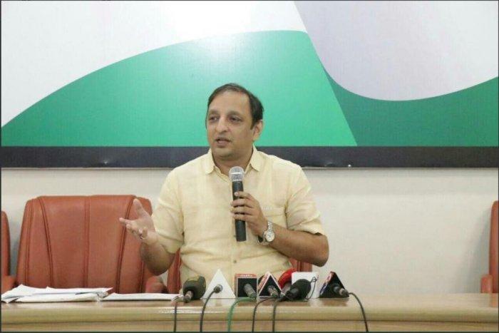 Maharashtra Congress spokesperson Sachin Sawant.