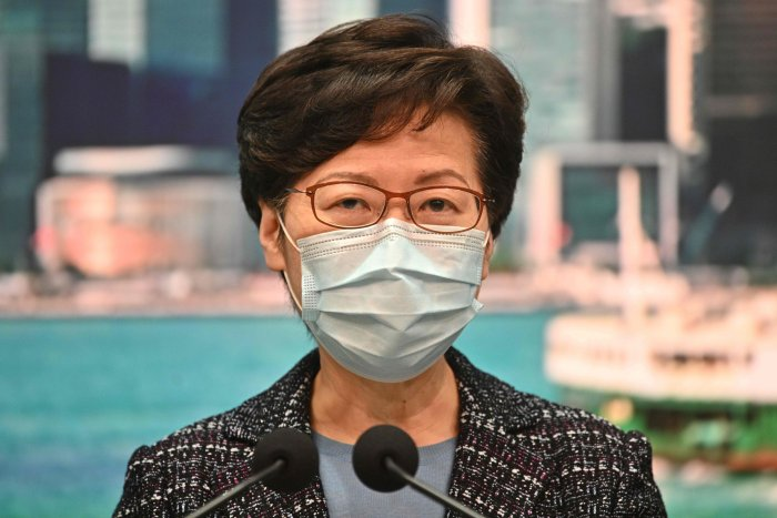 Carrie Lam (AFP photo)