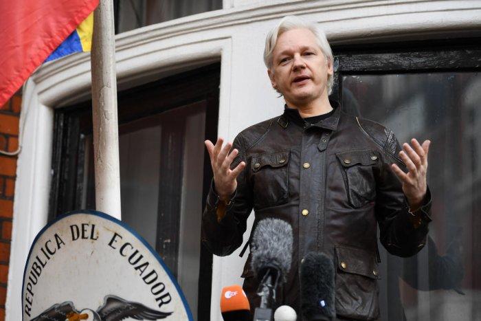 Julian Assange. (AFP Photo)