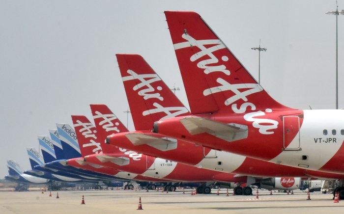 Air Asia flights. (File Photo)