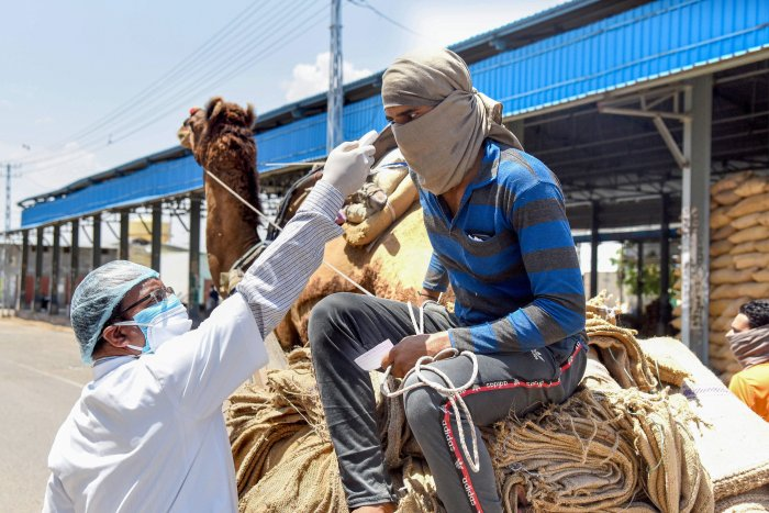 A total of 2,393 cases of the virus have been reported in the state so far. (Credit: PTI Photo)