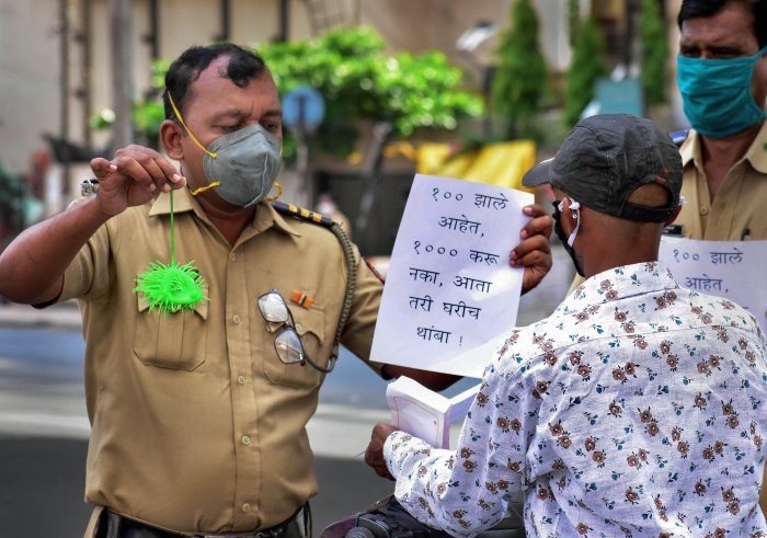The police traced and isolated 618 persons, who were stamped for home quarantine, he said, adding that at present, 1,55,076 have been quarantined. (Credit: PTI Photo)
