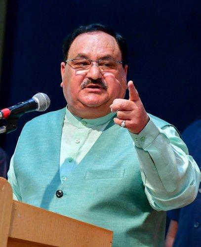 BJP national president J P Nadda (PTI File Photo)