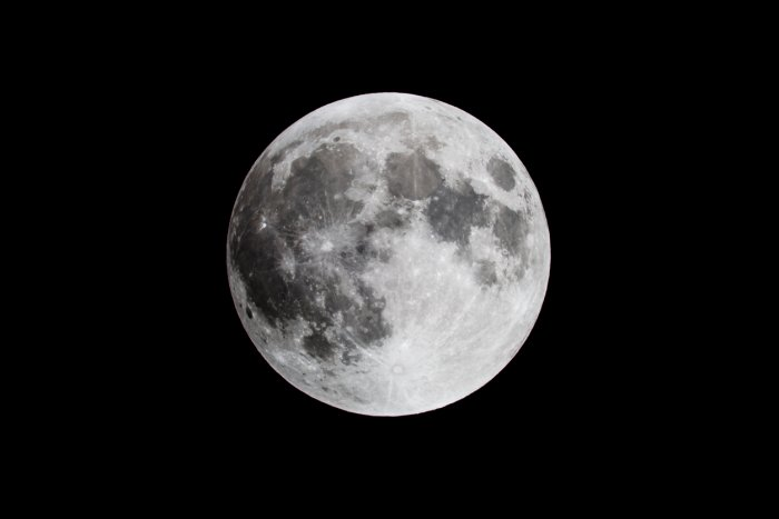 The moon rock, weighing over 13.5 kg, was probably struck off the surface of the moon by a collision with an asteroid or comet and then showered down on the Sahara desert. Credit: iStock Photo