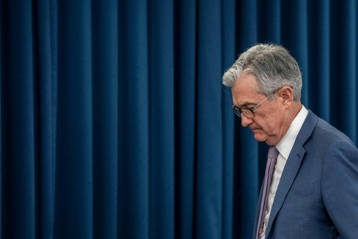 US Federal Reserve Chairman Jerome Powell. (AFP Photo)