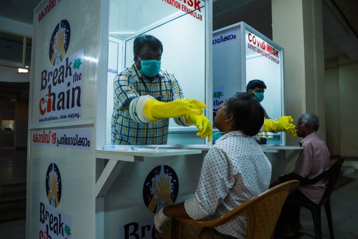 Kerala health department sources said that the exact source of infection ofover 20 cases could not be tracked yet. (AFP photo)