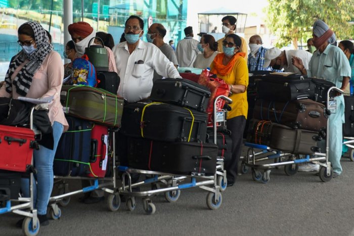 Passengers are arriving from Canada (308), US (927), UAE (2,575), Qatar (414) and Saudi Arabia (927). (Credit: DH Photo)