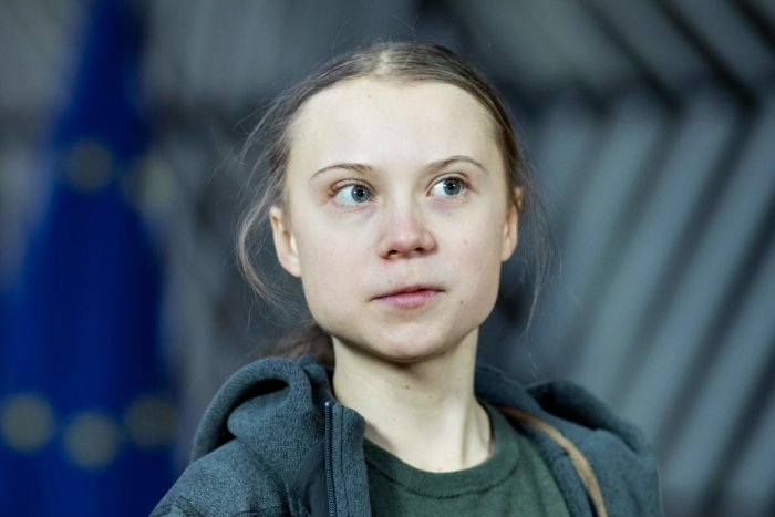 Greta Thunberg. (AFP Photo)