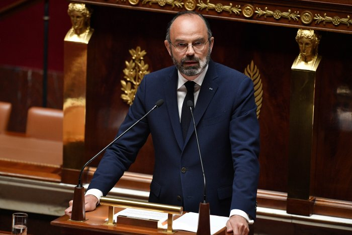 French PM Edouard Philippe. (Credit: Reuters Photo)
