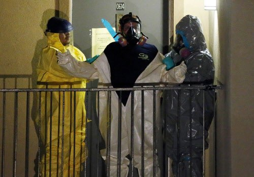 First Ebola patient in US in critical condition