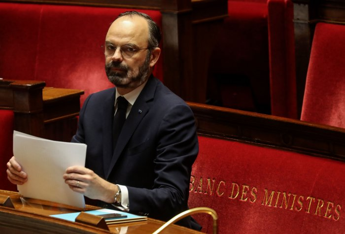 French Prime Minister Edouard Philippe. (AFP Photo)