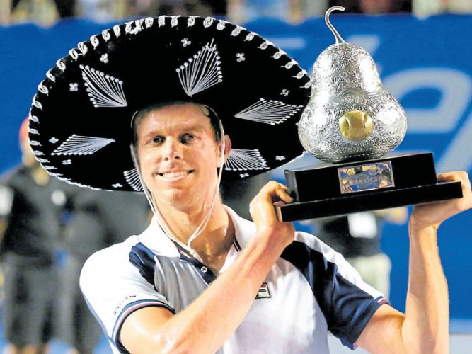 Querrey ends Nadal's reign to clinch Mexico Open