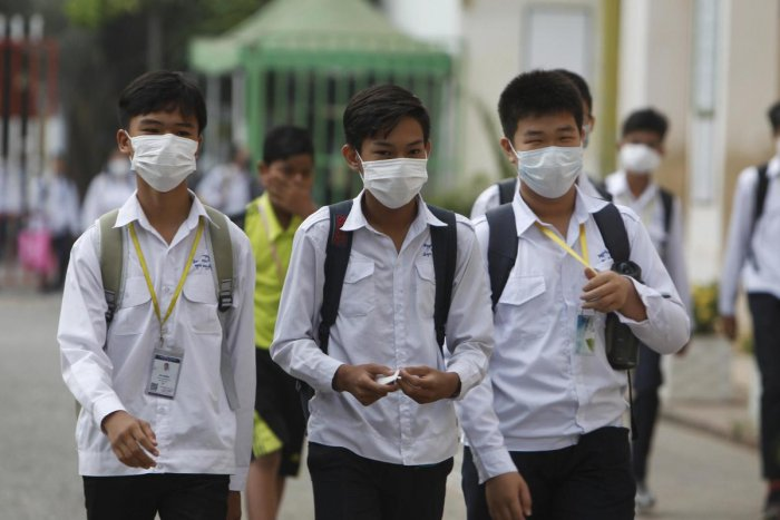 In China, the toll taken by the new virus jumped to 106 dead, and more than 4,000 confirmed cases, according to the latest official report. (AP Photo)