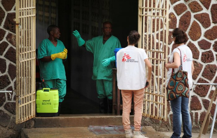 An Ebola outbreak is normally declared over once 42 days have passed since blood samples from the last confirmed case test negative for the second time. Reuters file photo